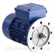 Асинхронный электродвигатель 0,55кВт 3000 об/хв. фланец B5T 220/380В (W22 71 2р) IE1 фото