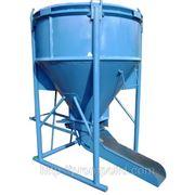 Бункер бетонной массы ББМ-02-2 Высота загрузки 2,5м, 2м3 ББМ-02-2 Высота загрузки 2,5м, 2м3 фото