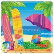 Тарелки гаваи Пляж фото