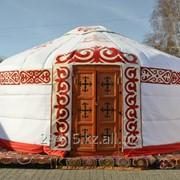 Юрты казахские 12-ти канатные фото