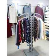 Cистема мебели для магазинов одежды `Квадро` фото