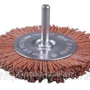 Щетка Stayer дисковая для дрели, полимерно-абразивная, зерно P120, 100мм Код:35161-100 фото