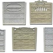 Garduri decorative din beton фото