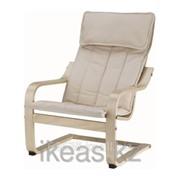 Кресло детское, березовый шпон, Алмос неокрашенный ПОЭНГ фото