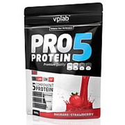 VPLab PRO 5 500 гр. Пятикомпонентный протеин. Ананас-кокос. фото