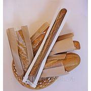 Бумажные пакеты с окошком для хлеба,выпечки,кондитерских и колбасных изделий фото