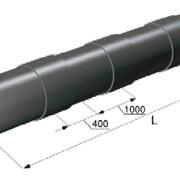 Труба с усиленной оболочкой Ст 133*4-ППУ-ПЭ фото