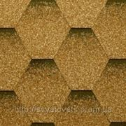 Битумная черепица Katepal Katrilli Золотой песок фото