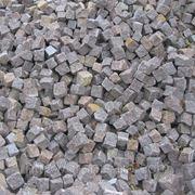 Камень брусчатый колотый 50*100*100 мм фото