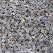 Камень брусчатый колотый 50*50*50 мм фото