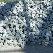 Камень брусчатый пиленый 80*80*80 мм фото