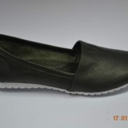 Летняя обувь,женские летние балетки t 1-57 цвет темно-зелёный,ЧП Maestro,Харьков фото