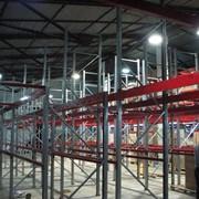 Монтаж складского оборудования фото
