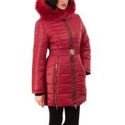 Куртка холлофайбер красный Арт.1387V фото