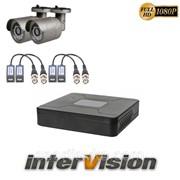 Комплект видеонаблюдения KIT-241W: 2 цифровые видеокамеры 2.1 Mp Sony Exmor + видеорегистратор 300181 фото
