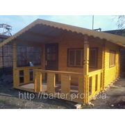 Дом из профилированного бруса 6х4 м. Купить в Луганске фото