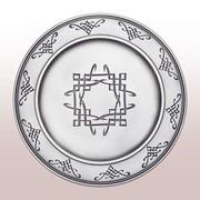 """Подставка под тарелку """"Арабеска полная гравировка"""" STNM-011 фото"""