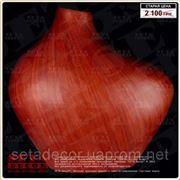 Вазочка из красного дерева фото