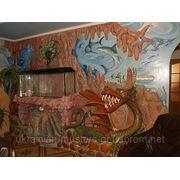 Художественный роспись стен фото