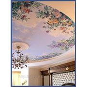 Потолок для спальни фото