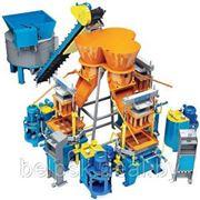 Линия для производства бетонных блоков (вибропресс) Рифей Трикондор фото