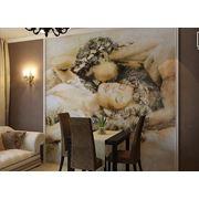 Роспись стен в столовой Заказ художественной росписи фото