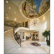 Дворцовая роспись потолка фото