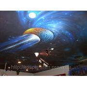 Объемный рельефный потолок фото