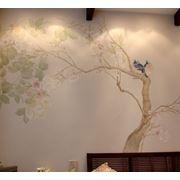 Пастельная роспись стен Донецк фотография