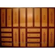Роспись мебели (шкафа) фото