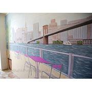 Авторская роспись стен, мебели. Обманка фото
