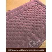 Набор ковриков 2 пр. Gelin Home ERGUVAN хлопковая махра тёмно-розовый 50х60, 60х100 фото