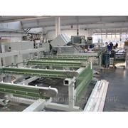 Распиловочный центр Haffner SBA-1 с тремя пильными дисками. фото