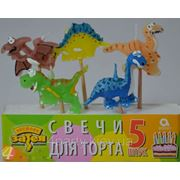 Свечи Динозаврики фото