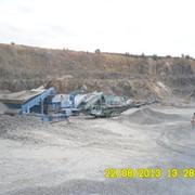 Переробка (подрібнення та сортування) граніту, вапняку, піску, тощо фото