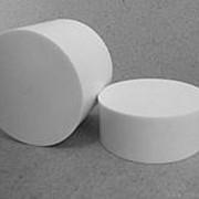 Фторопласт диски Ф4 d:90, h:100мм фото