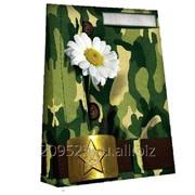 Коробка подарочная для футболки Милитари фото