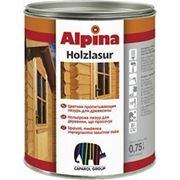Лазурь Alpina Holzlasur (12 цветовых тонов), 10 л. фото