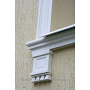 Консоль на фасад из пенополистирола с армирующим покрытием фото