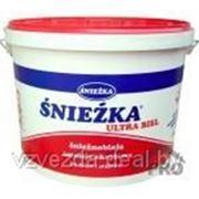 Краска для внутренних работ Sniezka ЭКО 3л фото
