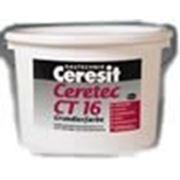 Грунтовка для подготовки оснований под декоративные тонкослойные штукатурки и краски Ceresit CT 16, 10 л. фото