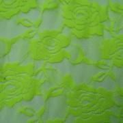 Ткань Гипюр стрейч Салатовый фото