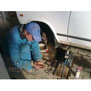 Замена тормозных колодок, шаровых, рулевых наконечников, стоек Жигули Донецк. фото