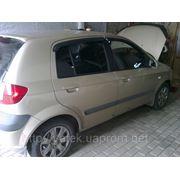 Замена тормозных колодок, шаровых, рулевых наконечников, стоек Hyundai Донецк. фото