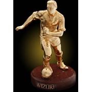 Футболист (золотой) фото
