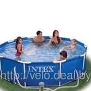 Каркасный бассейн Intex 54424 Metal Frame Pool 366 х 99 фильтр-насос+лестница см фото