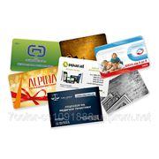 Пластиковые карточки фото