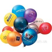 Печать логотипов на воздушных шарах. Проведение промоакций фото