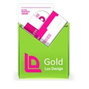 Фирменный стиль Пакет «Gold» фото