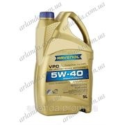 5w40, моторное масло 5w-40 /для дизельных двигателей/ RAVENOL VPD (Германия) API CF цена (5 л) фото